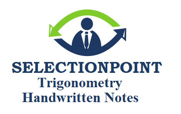 Trigonometry Handwritten Notes